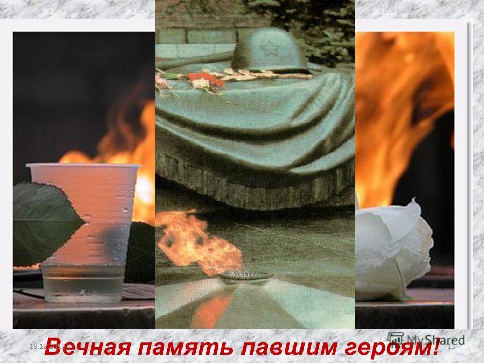 Вечная память павшим героям! 1518.12.2013