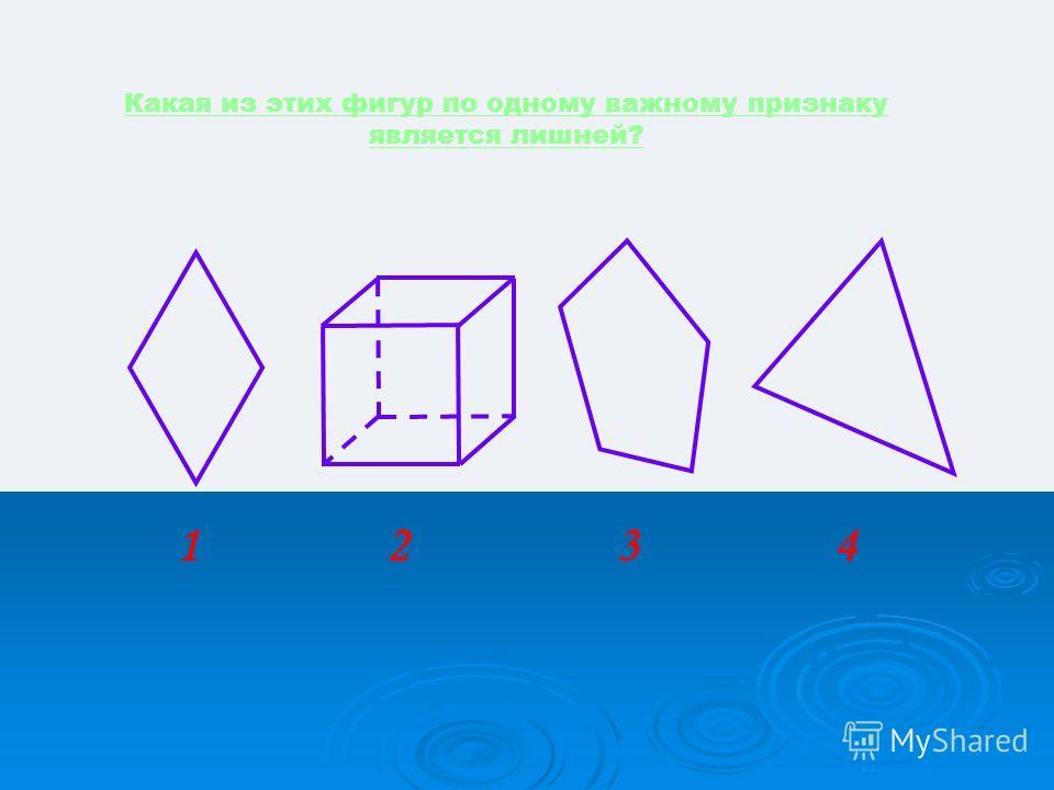 Перед Вами формулы площадей некоторых фигур. Я считаю, что всё это площади треугольника. Так ли это? 3 4 1 2