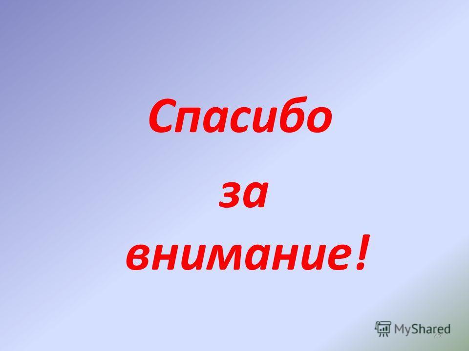 23 Спасибо за внимание!