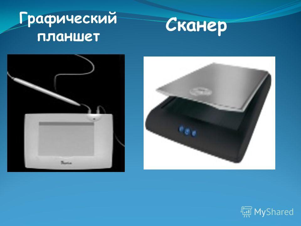 Графический планшет Сканер