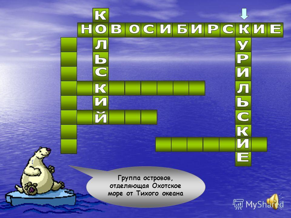 Острова, расположенные между морем Лаптевых и Восточно-Сибирским морем