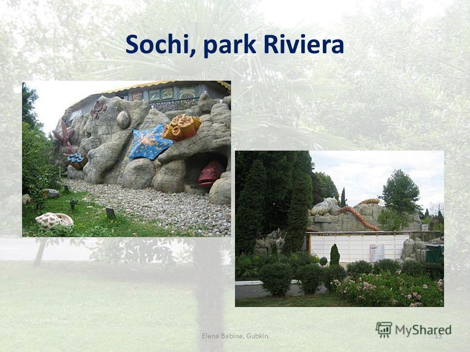 Sochi, park Riviera 13Elena Babina, Gubkin