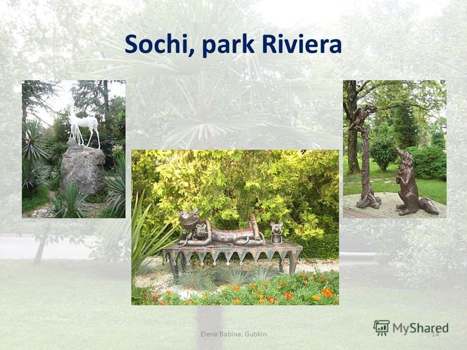 Sochi, park Riviera 14Elena Babina, Gubkin