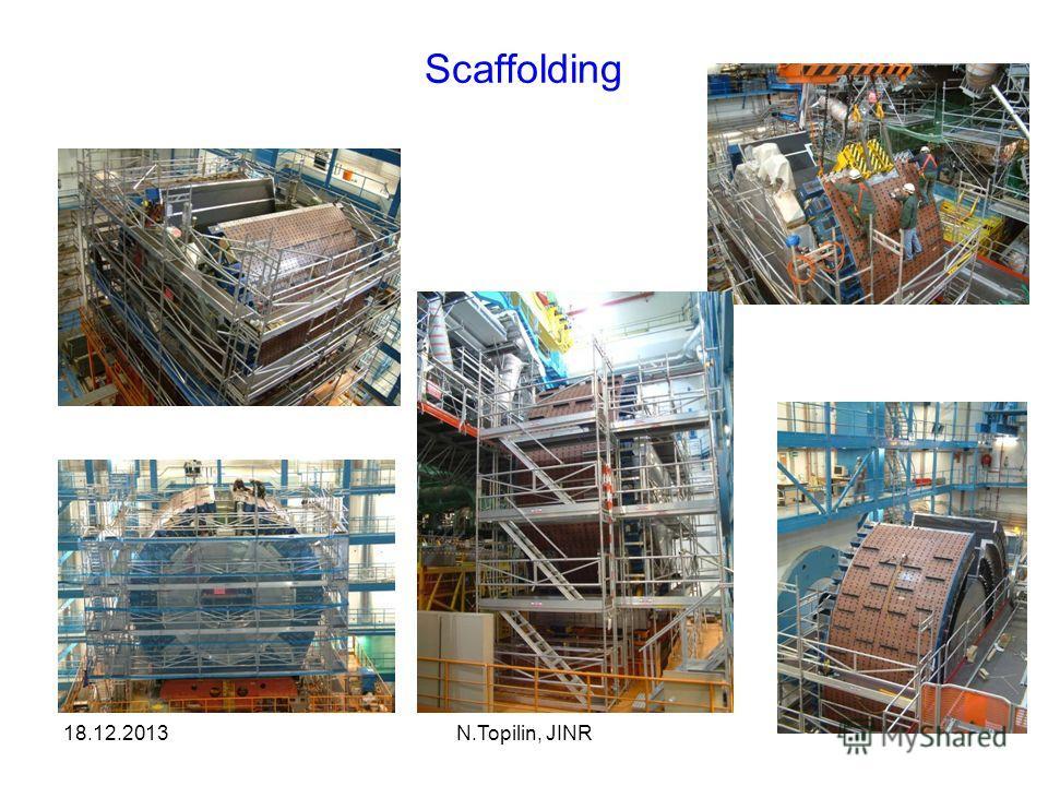 Scaffolding 18.12.2013N.Topilin, JINR