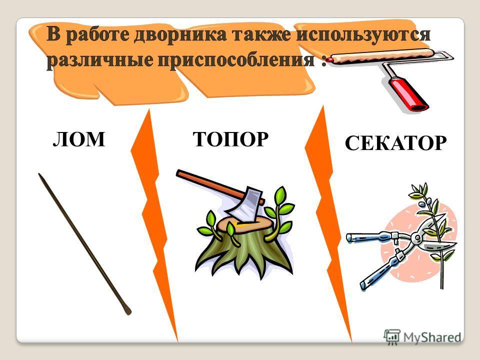 ЛОМТОПОР СЕКАТОР