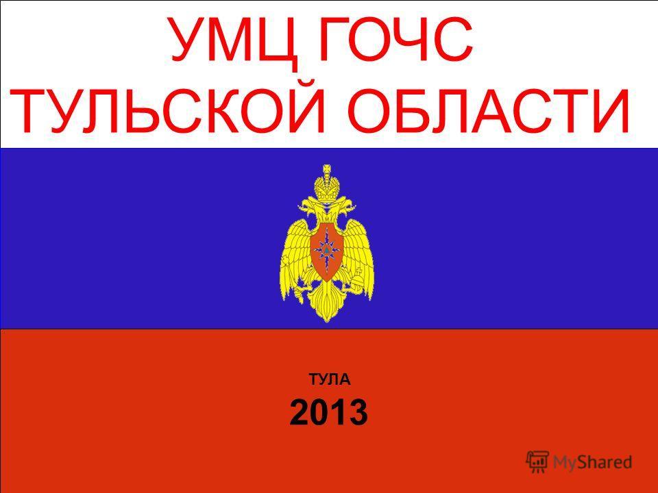 УМЦ ГОЧС ТУЛЬСКОЙ ОБЛАСТИ ТУЛА 2013