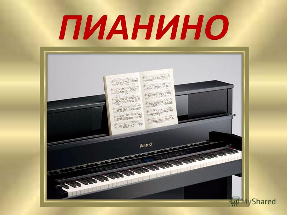 Очень музыку любили Две сестры, Наташа с Ниной, И поэтому купили Им большое …