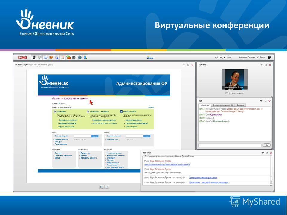Виртуальные конференции