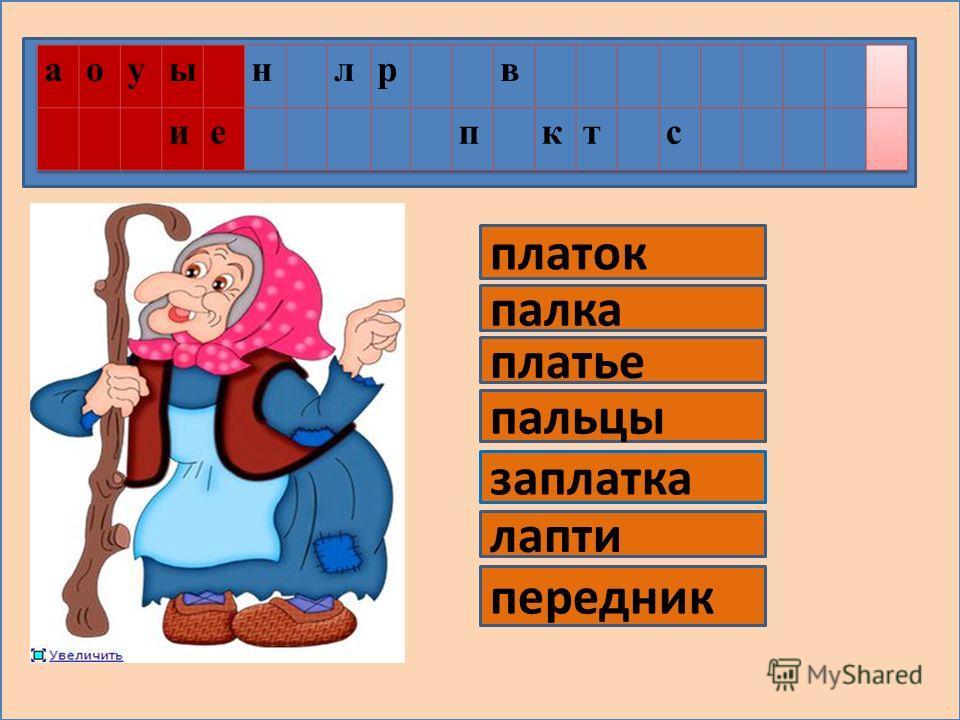 Урок обучения грамоте 1 класс. Разработка Якшиной И.Н.