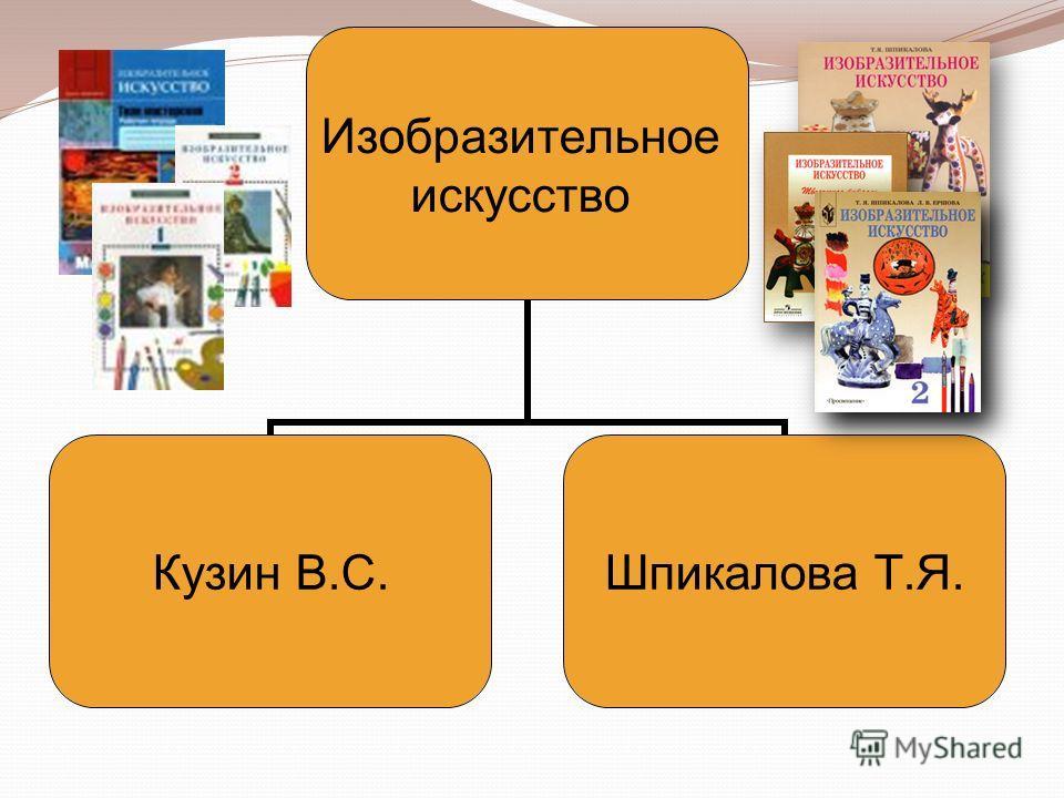 Изобразительное искусство Кузин В.С.Шпикалова Т.Я.