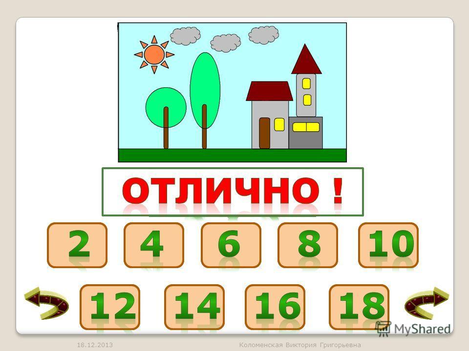 18.12.2013Коломенская Виктория Григорьевна