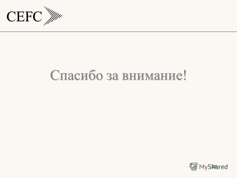 CEFC 28 Спасибо за внимание!