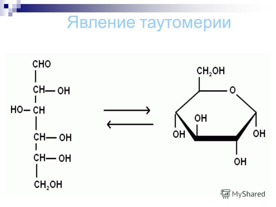 Явление таутомерии
