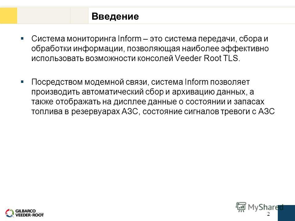 1 Система мониторинга информации Inform TM