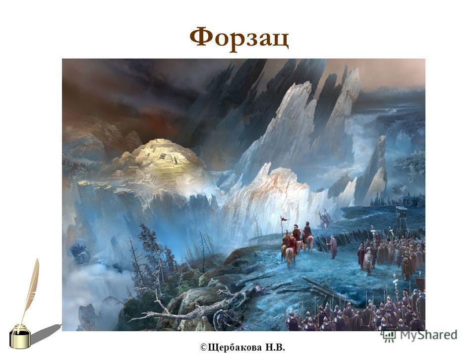 ©Щербакова Н.В. Форзац
