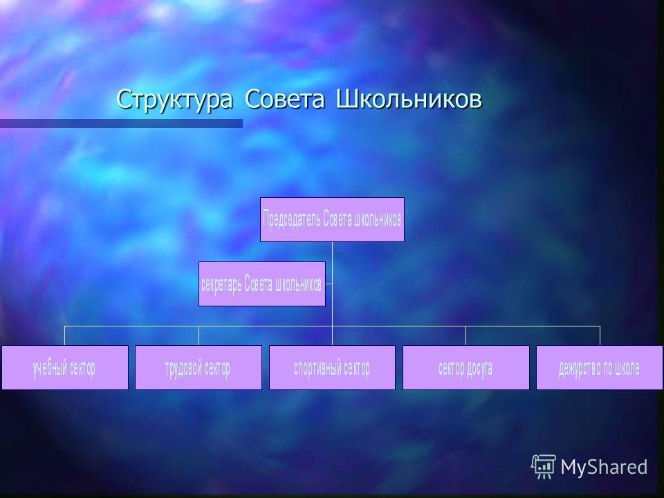 Структура Совета Школьников