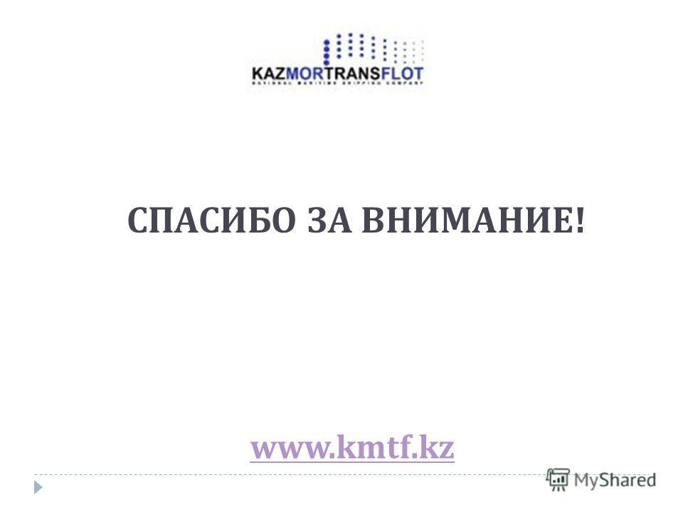 www.kmtf.kz СПАСИБО ЗА ВНИМАНИЕ!