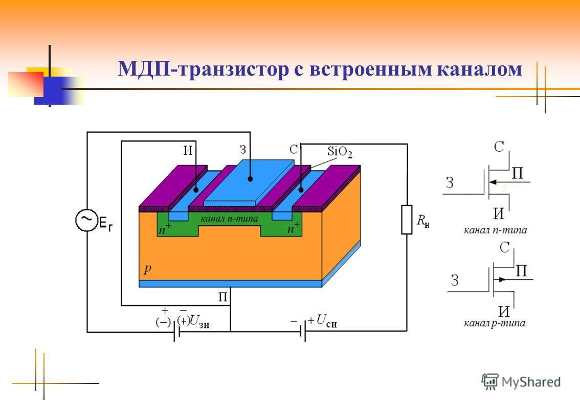 МДП-транзистор с встроенным каналом