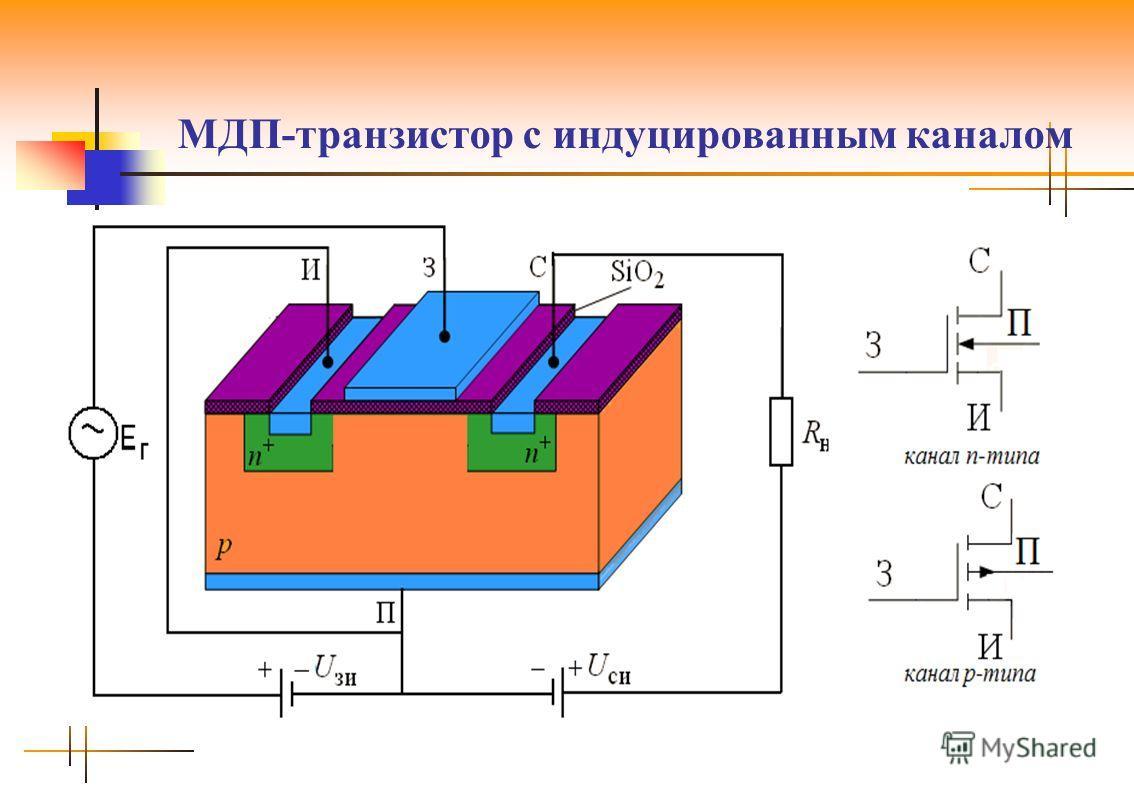 МДП-транзистор с индуцированным каналом