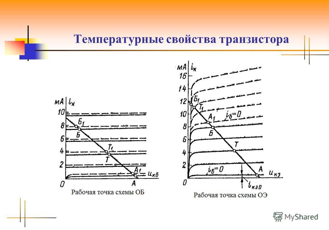 Температурные свойства транзистора