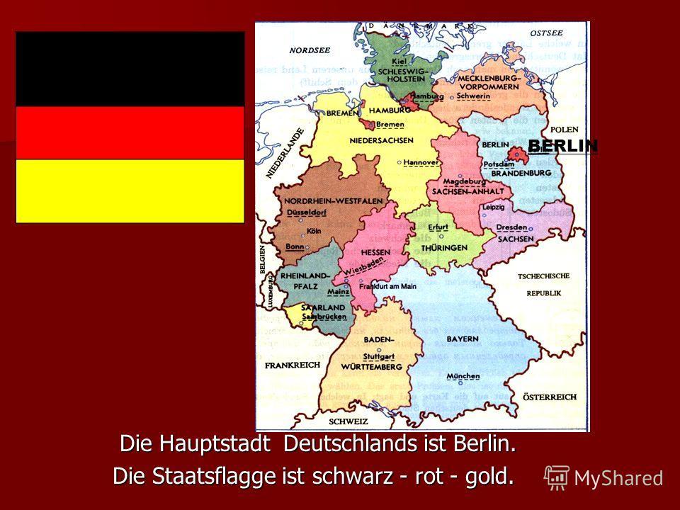 Deutschland liegt in der Mitte Europas. Deutschland liegt in der Mitte Europas. Seine Nachbarn sind Dänemark,Polen, die Tschechische Seine Nachbarn sind Dänemark,Polen, die Tschechische Republik, Österreich, Lichtenstein, die Schweiz, Frankreich, Lux