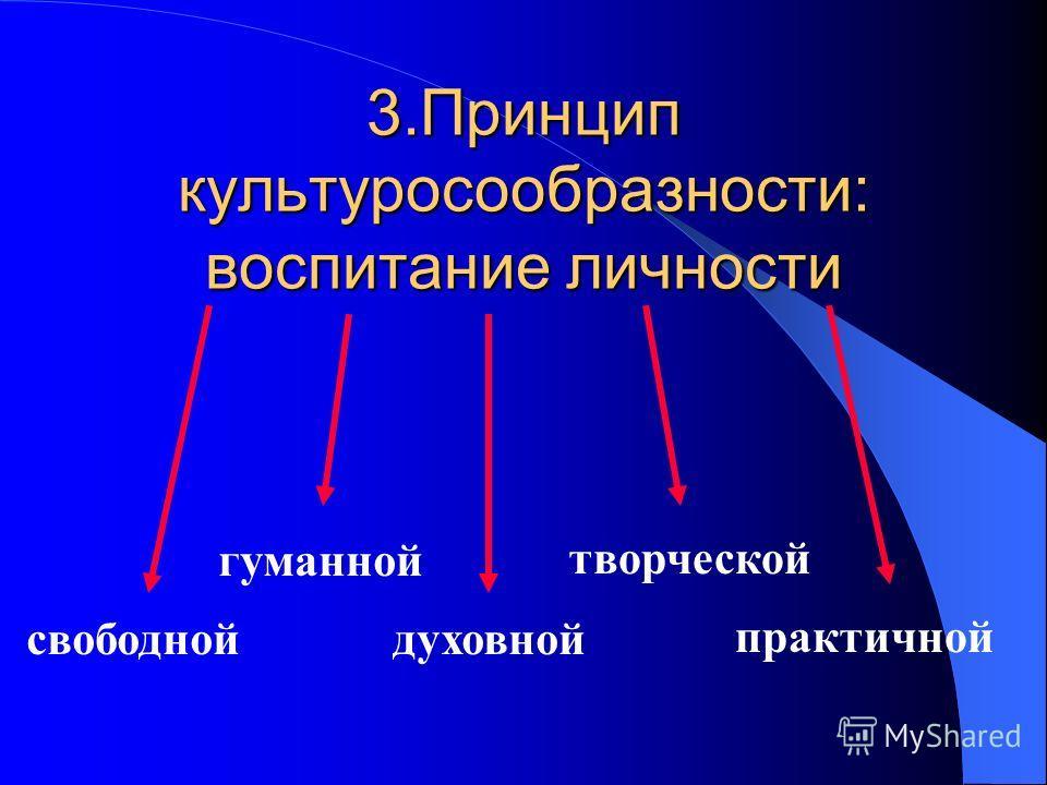 2.Принцип гуманизма Смягчение социальной напряжённости Восстановление душевного равновесия Обретение духовности