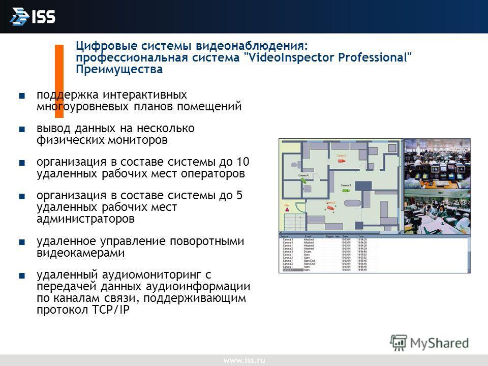 Цифровые системы видеонаблюдения: профессиональная система