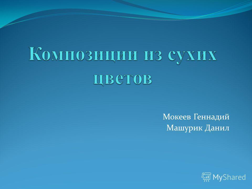 Мокеев Геннадий Машурик Данил