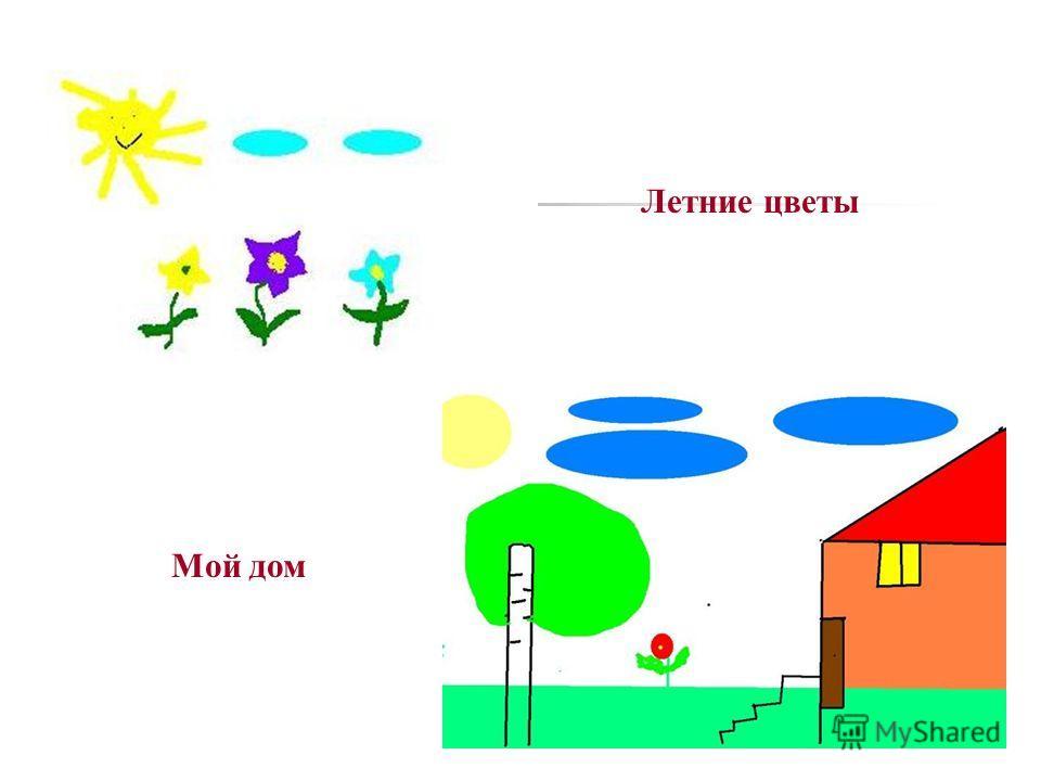Летние цветы Мой дом