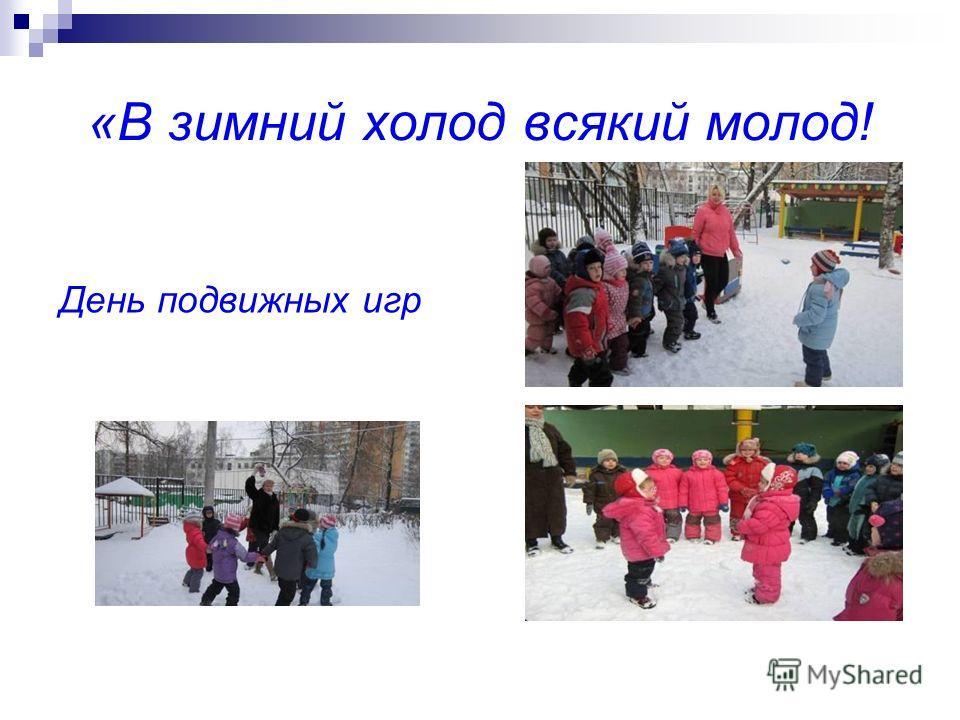 «В зимний холод всякий молод! День подвижных игр