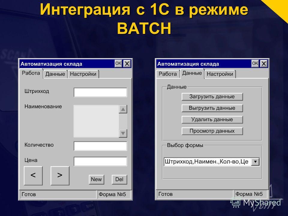 Интеграция с 1С в режиме BATCH