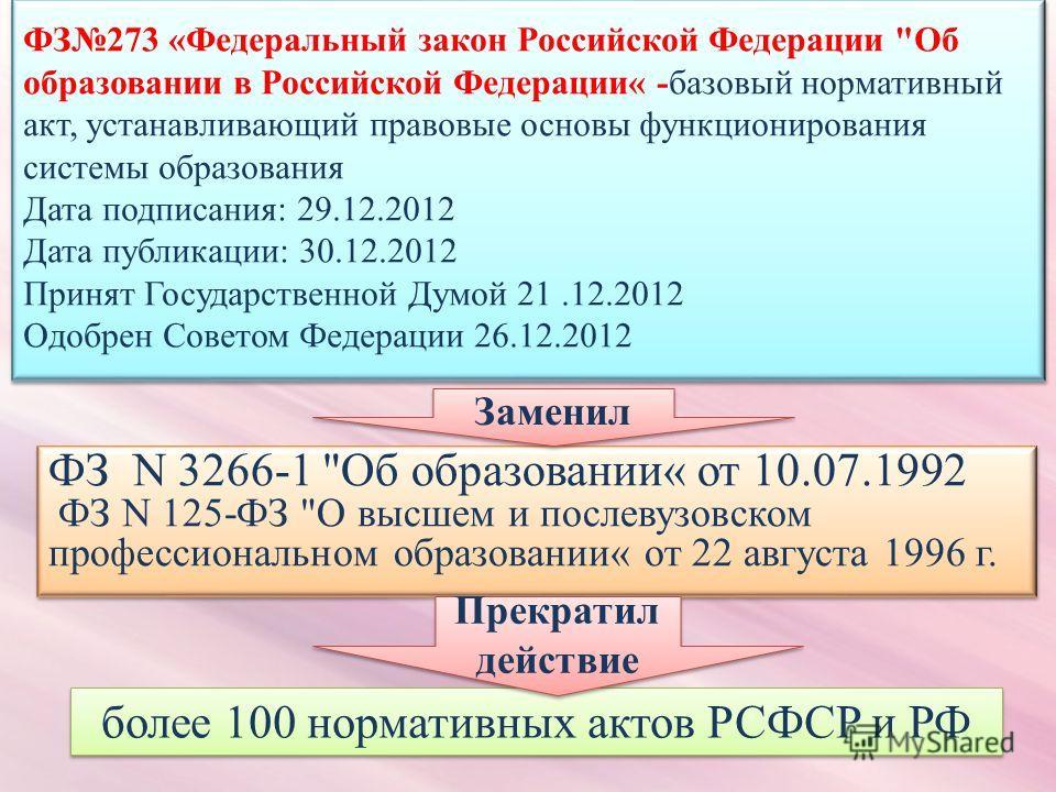 ФЗ N 3266-1