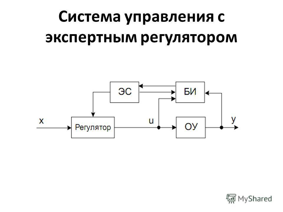 Система управления с экспертным регулятором