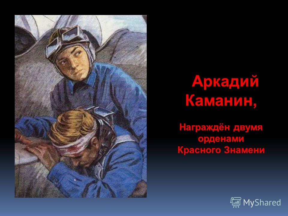 Аркадий Каманин, Награждён двумя орденами Красного Знамени