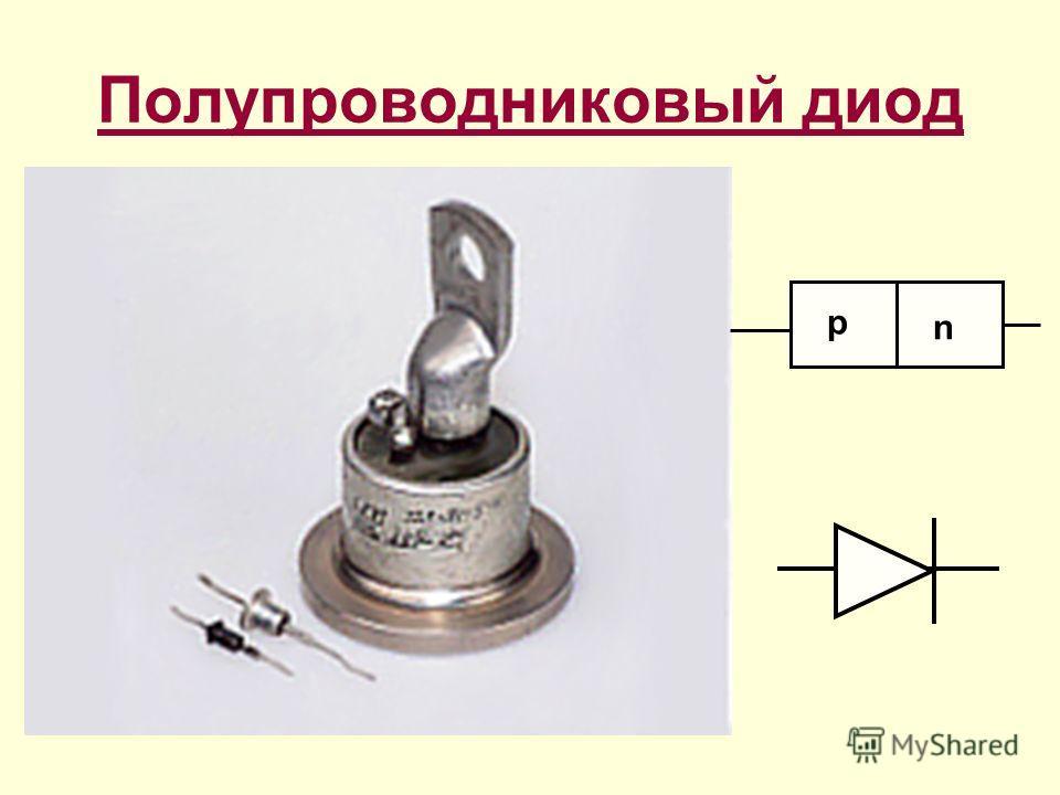 Полупроводниковый диод p n