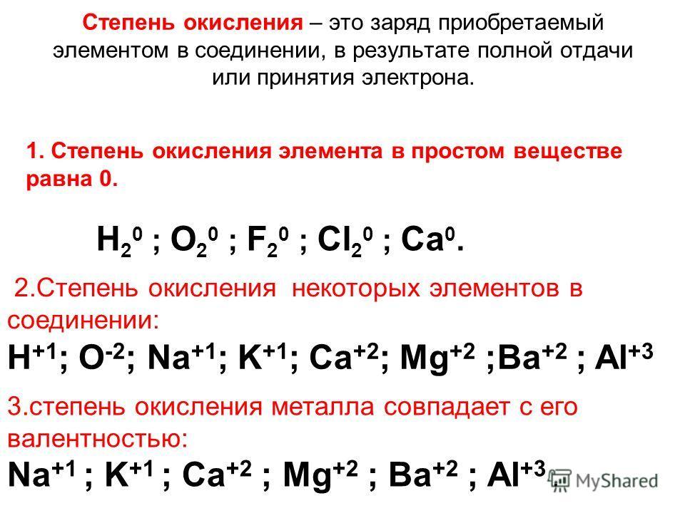 Определение степени окисления степень окисления высшая низшая = группы = группы - 8 Соединения с кислородом Соединения с металлами и водородом ЭО МеЭНЭ