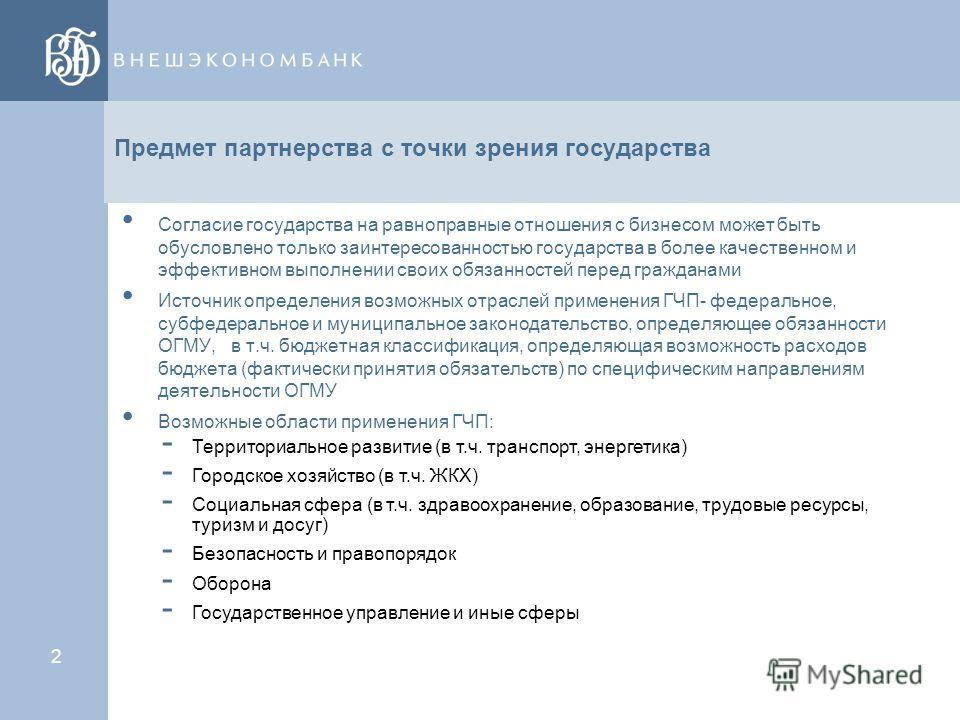 1 Содержание ГЧП Юридические формы ГЧП Организация управления проектом ГЧП Обеспечение обязательств ОГМУ по проектам ГЧП