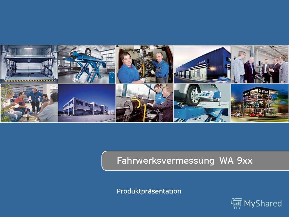 Fahrwerksvermessung WA 9xx Produktpräsentation
