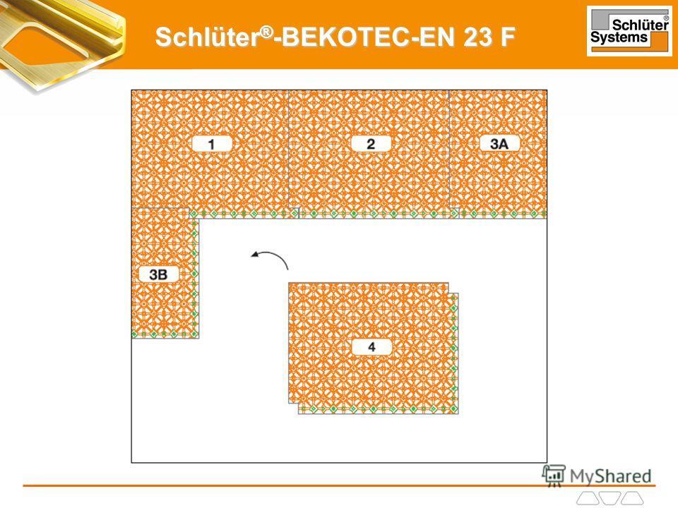 Schlüter ® -BEKOTEC-EN 23 F