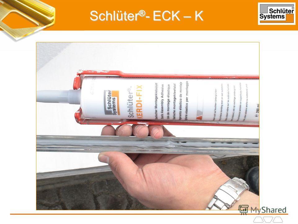 Schlüter ® - ECK – K