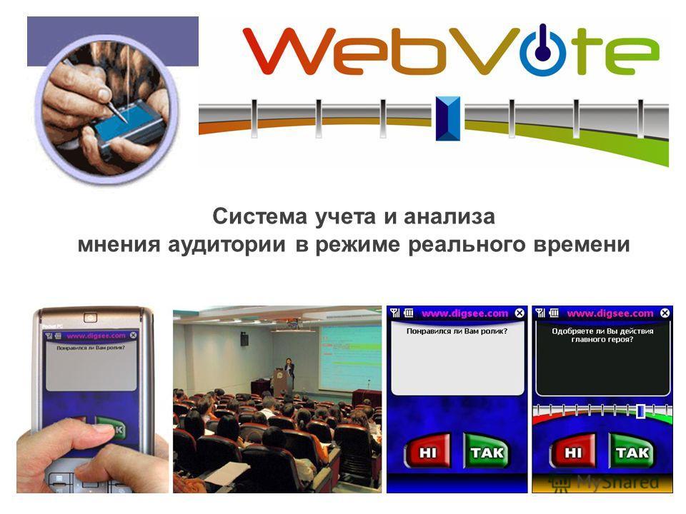 Система учета и анализа мнения аудитории в режиме реального времени