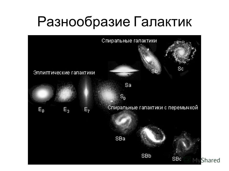Разнообразие Галактик