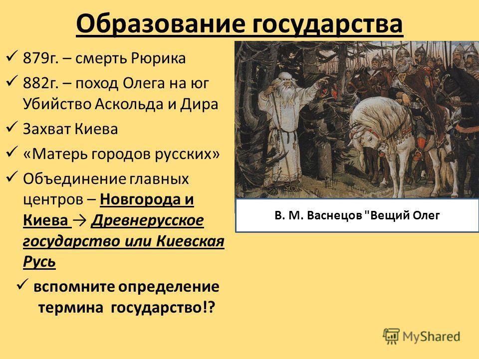 причины формированеи городов на руси
