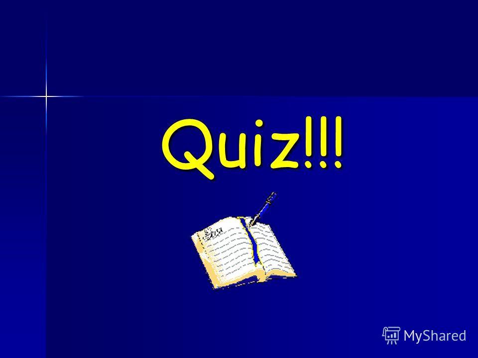 Quiz!!!