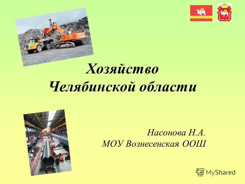 Хозяйство Челябинской области Насонова Н.А. МОУ Вознесенская ООШ