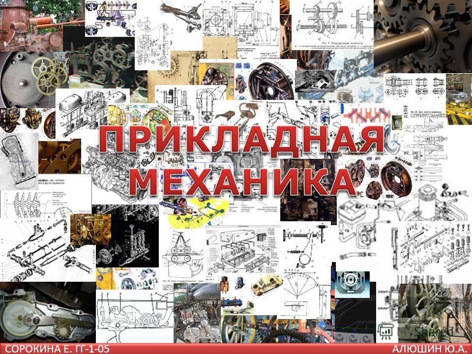 СОРОКИНА Е. ГГ-1-05АЛЮШИН Ю.А.