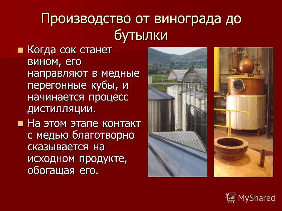Производство от винограда до