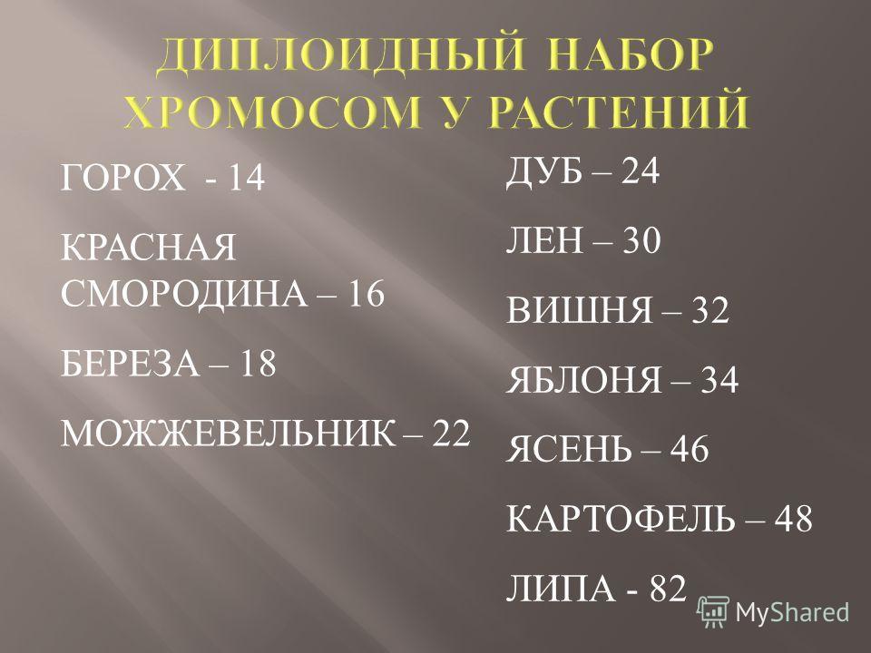 ГОРОХ - 14 КРАСНАЯ СМОРОДИНА – 16 БЕРЕЗА – 18 МОЖЖЕВЕЛЬНИК – 22 ДУБ – 24 ЛЕН – 30 ВИШНЯ – 32 ЯБЛОНЯ – 34 ЯСЕНЬ – 46 КАРТОФЕЛЬ – 48 ЛИПА - 82