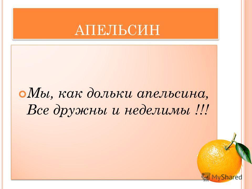 АПЕЛЬСИН КОМАНДА 3 класса «Б»