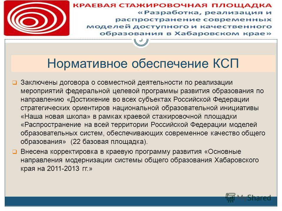 Заключены договора о совместной деятельности по реализации мероприятий федеральной целевой программы развития образования по направлению «Достижение во всех субъектах Российской Федерации стратегических ориентиров национальной образовательной инициат